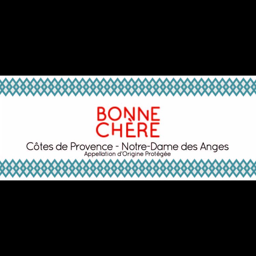 Domaine de la Fouquette | Etiquette Vin Bio - Côtes de Provence Rouge - Bonne Chère